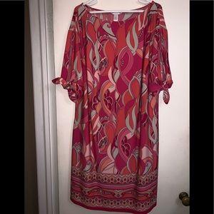 London Times Dress - Size 1X
